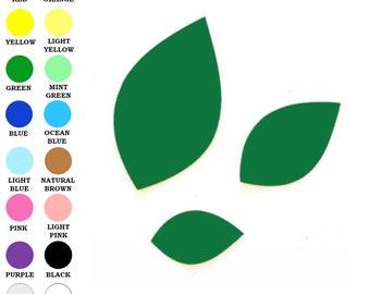 25 pack - Paper Leaf Cut Out, Paper Leaf, Leaf Embellishments, Leaf Shape Paper, Fall Leaves