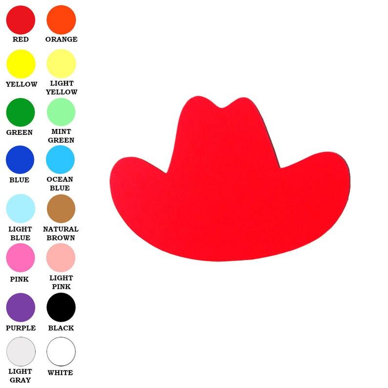 05f23bbbead Paper Cowboy Hat Shape Cowboy Hat Die Cut Cowboy Hat Cut