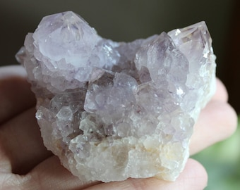 Lavender spirit quartz, quartz crystal, crystal specimen, rock stone, minerals gemstones