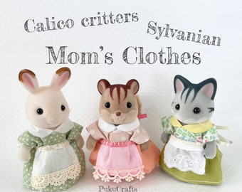 Forest calico critters sylvanian family mom's clothes