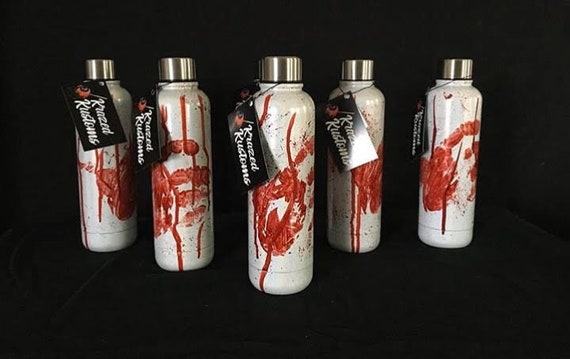 Kustom painted bottles