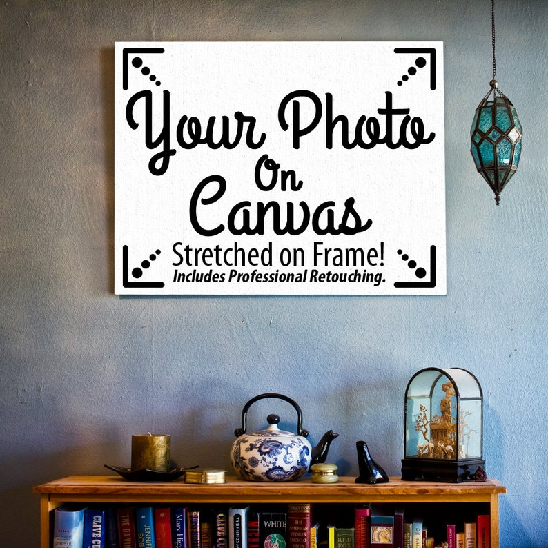 Custom Photo Canvas Stretched on a Frame  Includes image 0