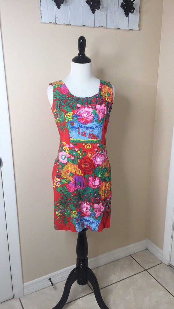 Jams World Red Hawaiian Dress