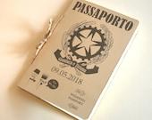 Partecipazione passaporto tema viaggio