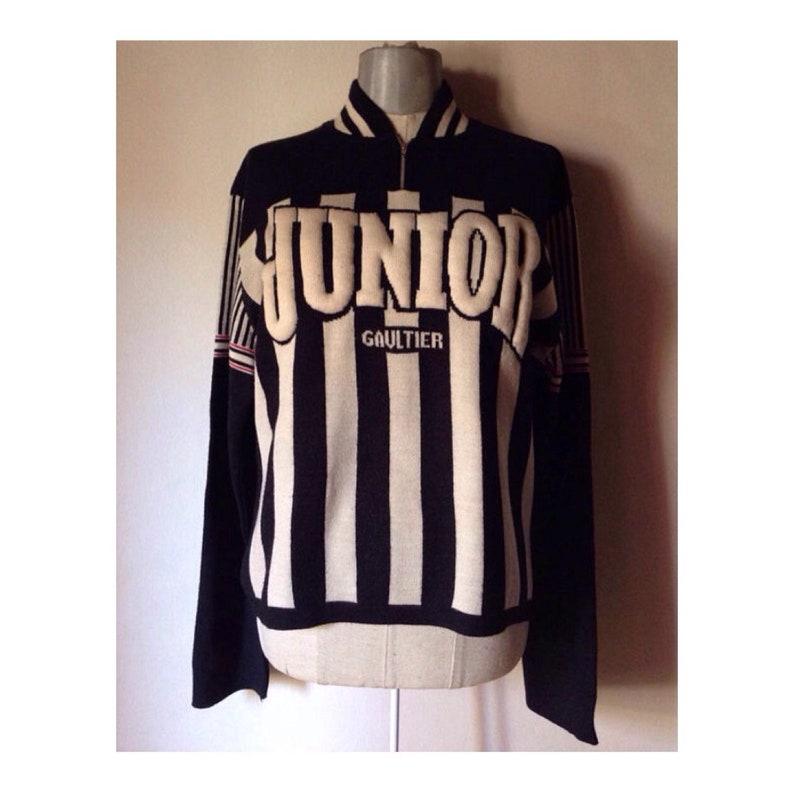 8786e40f9bc8 Jean Paul Gaultier 1990 Vintage men s sweater extravagant