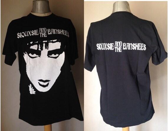 Siouxsie & the Banshees t-shirt Rare Unisex t-shir