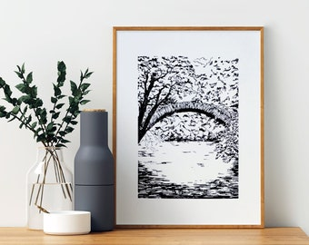 PERSONALIZED GRAVURES - Bespoke illustrations, landscapes, portraits...