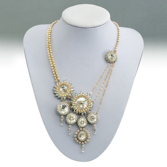 Free shipping wedding jewelry swarovski crystals bridal 3349c74976e7