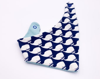 babies&minis triangular scarf - sweet scarf with snaps for babies