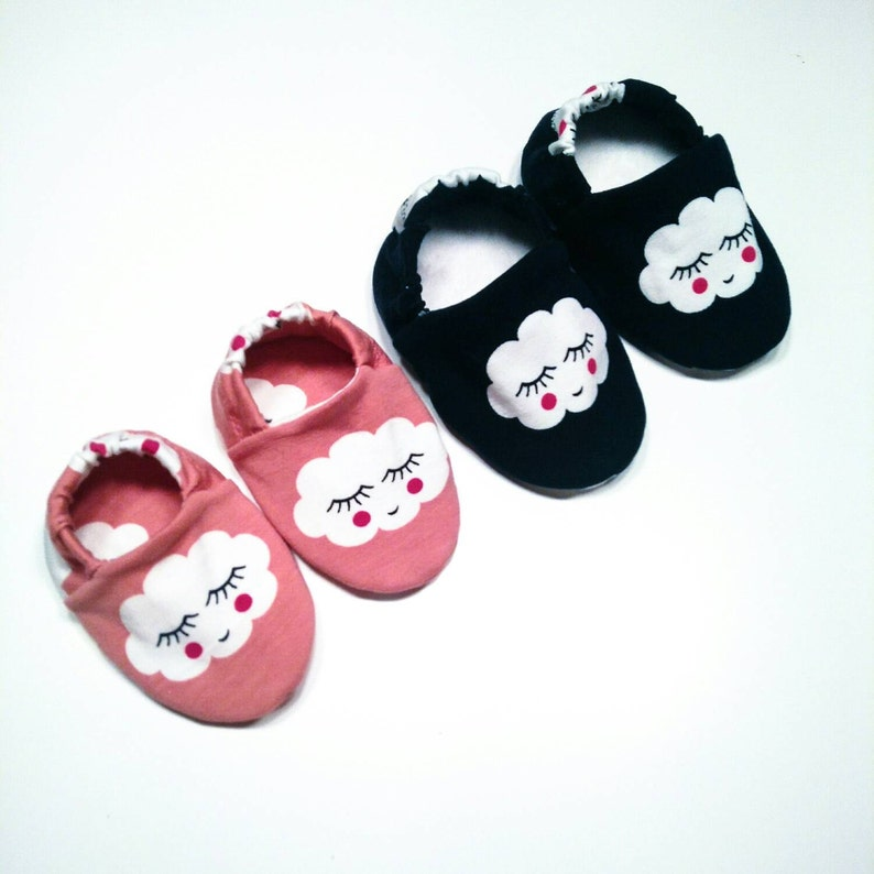 Babies & minis smiley cloudsweet baby shoes made image 0