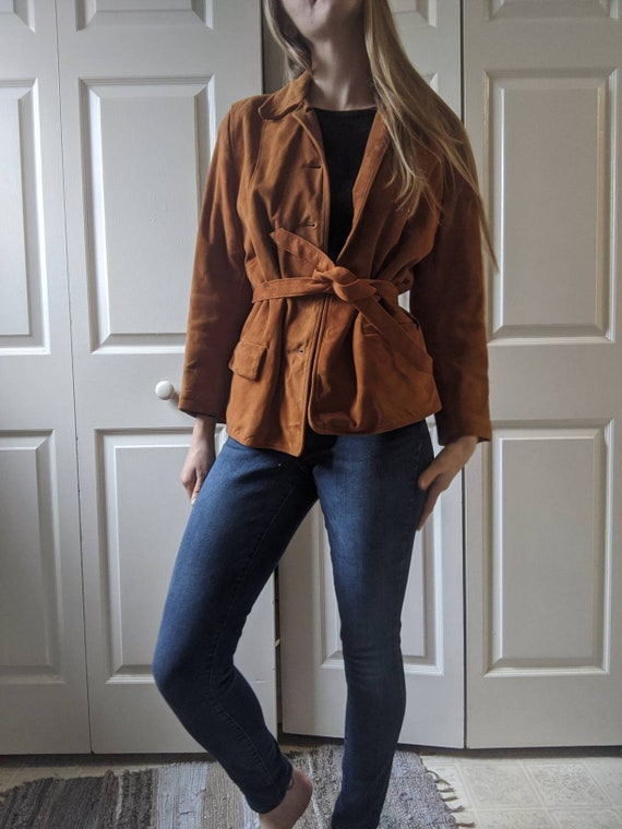 Vintage Suede Sears Jacket