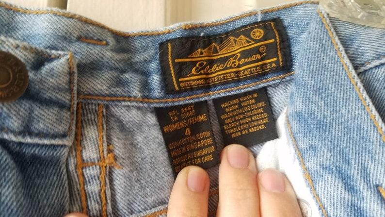 Vintage Eddie Bauer High Waisted Denim Shorts