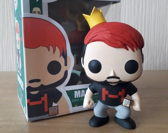 Markipier handmade custom pop toy! (Made to order, ask me for a build time!)