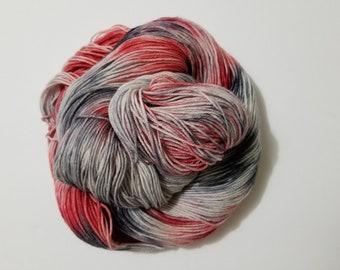 DTO - Love Stinks, Hand Dyed Yarn, Sock Yarn, Merino, Nylon,