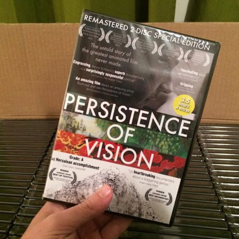 2-Disc Persistence of Vision DVD Set image 0
