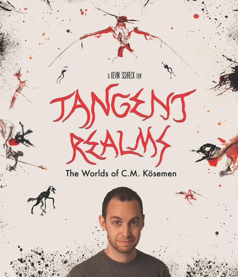 Tangent Realms: The Worlds of C.M. Kösemen  Blu-Ray/DVD Set image 0