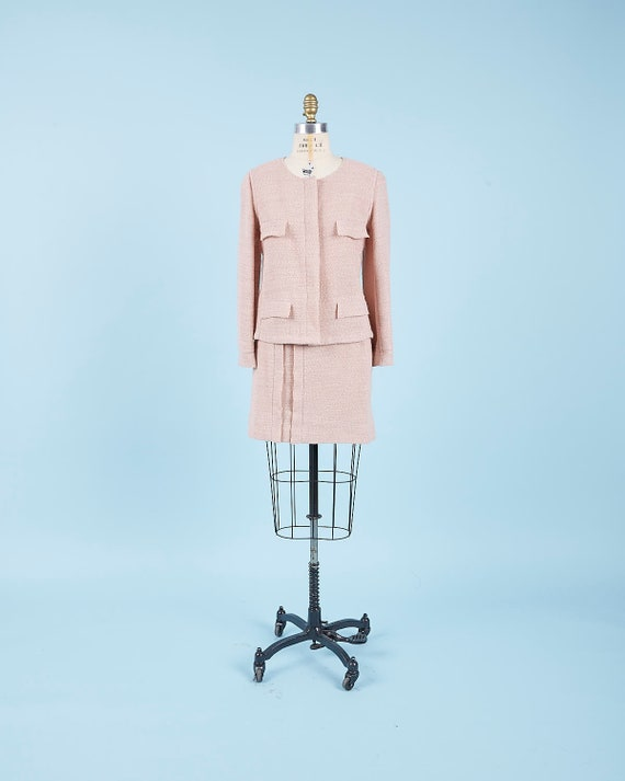 Blush Pink Chanel Suit