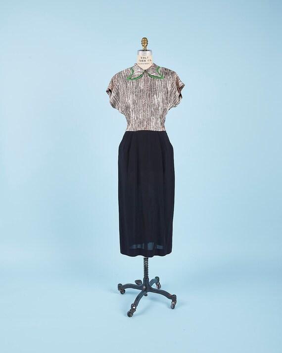 Crazy Collar Plaid Dress