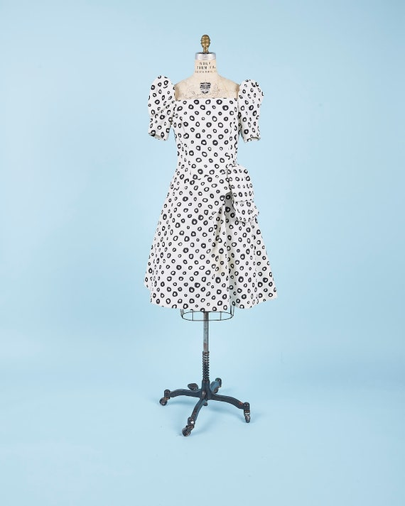 Polka Dot Dress Oleg Cassini