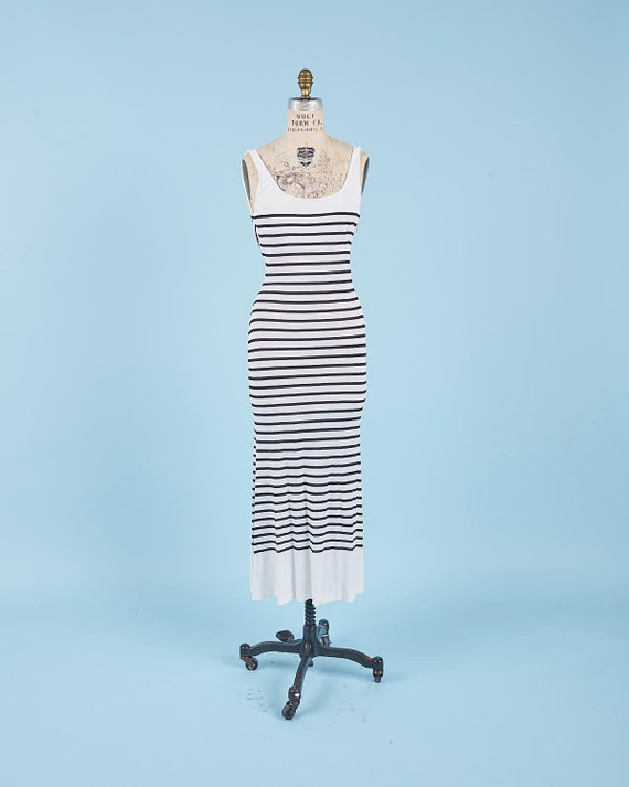 John Galliano Nautical Dress