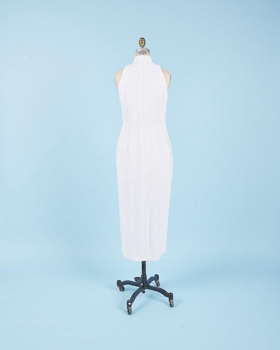 Linen White Dress - image 2