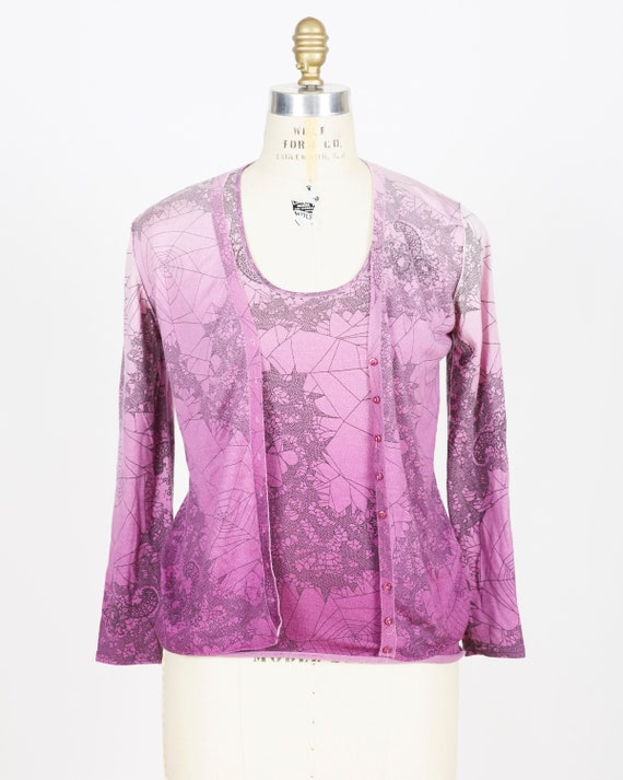 John Galliano Sweater Set
