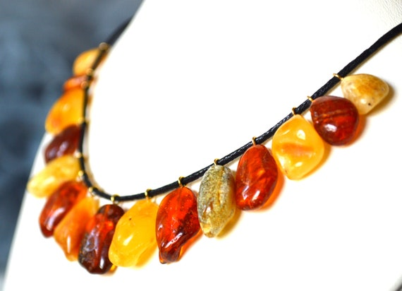 Amber Jewelry .Gold Amber Necklace.Amber Necklace Natural Amber Necklace Amber Necklace Baltic Amber Necklace