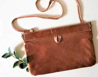 1960s blush dusty rose satin handbag - vintage pink evening bag - millennial pink bag - rose gold handbags - vintage bag- rose gold purse