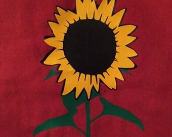 Sunflower Flour Sack Towel