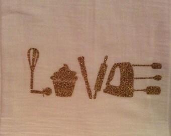 LOVE - Flour Sack Towel