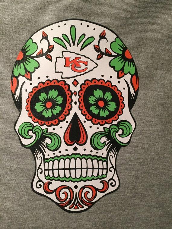 2f521923 Kansas City Chiefs Sugar Skull T-shirt
