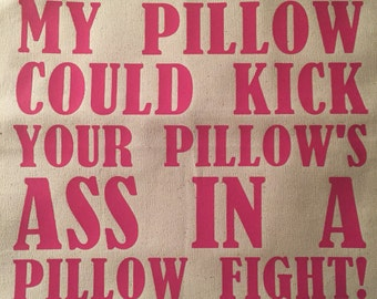 Pillow Fight Pillow Cover