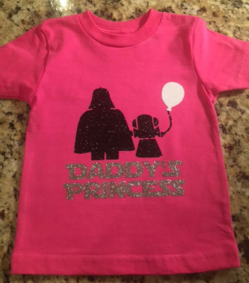 ab64feccf Star Wars Daddy's Princess T-Shirt | Etsy