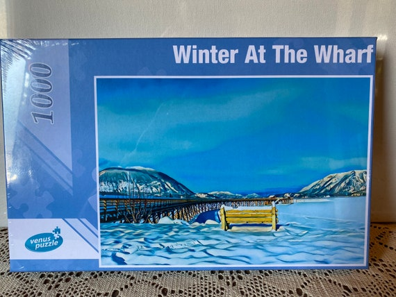 Puzzle - Winter At The Wharf