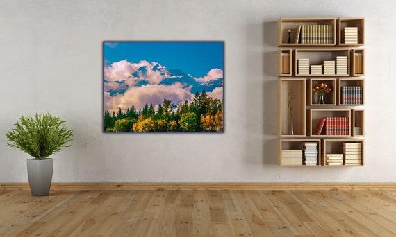 Mount Begbie In The Clouds
