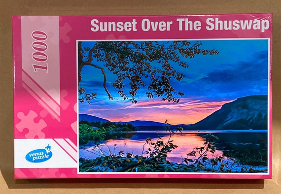 Sunset Over The Shuswap
