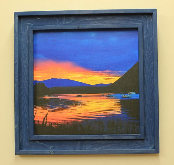 Classic Canoe Shuswap Sunset
