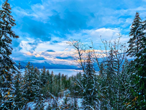 Winter Has Arrived in The Shuswap