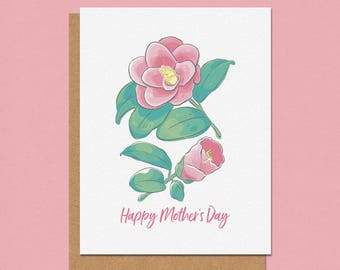 Happy Mother's Day Camilla Greeting Card