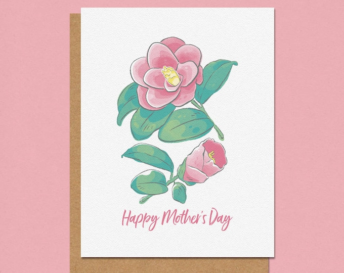 Featured listing image: Happy Mother's Day Camilla Greeting Card