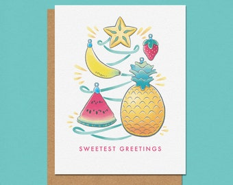Sweetest Greetings Holiday Card
