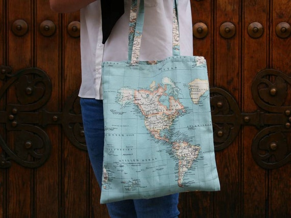 ATLAS TOTE BAG / blue