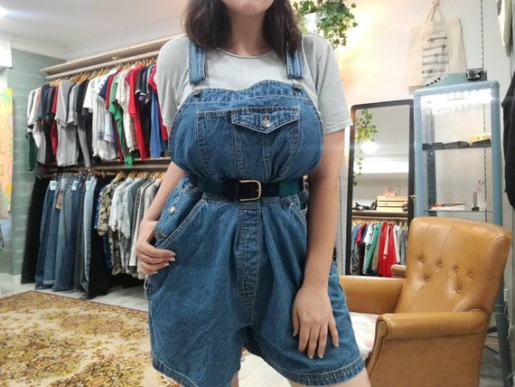 DENIM OVERALL BIB