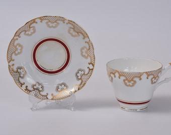 Crown Lanbil Teacup and Saucer