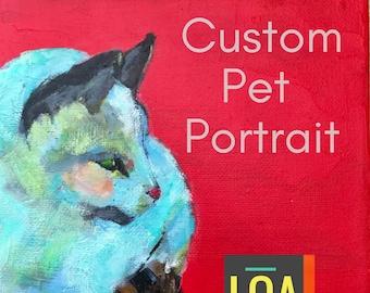 Pet Portrait - One Pet