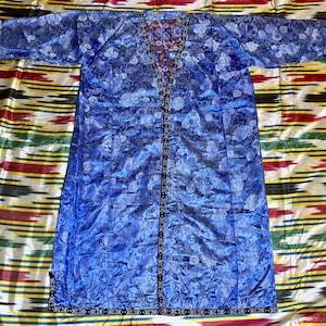 Uzbek Vintage Handwoven Silk Robe CHAPAN Caftan Kaftan SALE!!