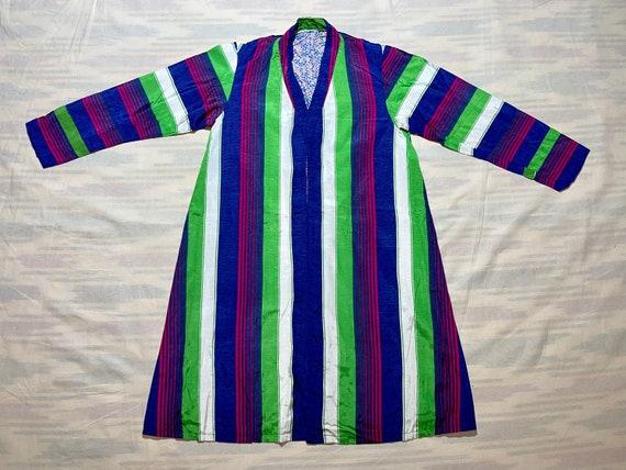 Antique Uzbek Chapan Handwoven Uzbekistan Robe Dre