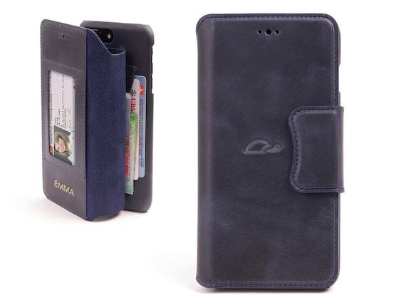 iPhone 8 Plus Wallet Case Etui cui pesonnalisé iPhone 8 Plus   Etsy eb18475d614