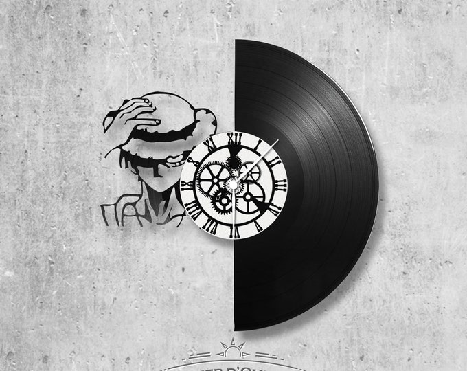 Vinyl 33 clock towers theme One piece