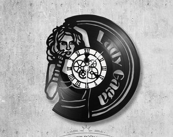 Vinyl 33 clock towers theme LADY GAGA